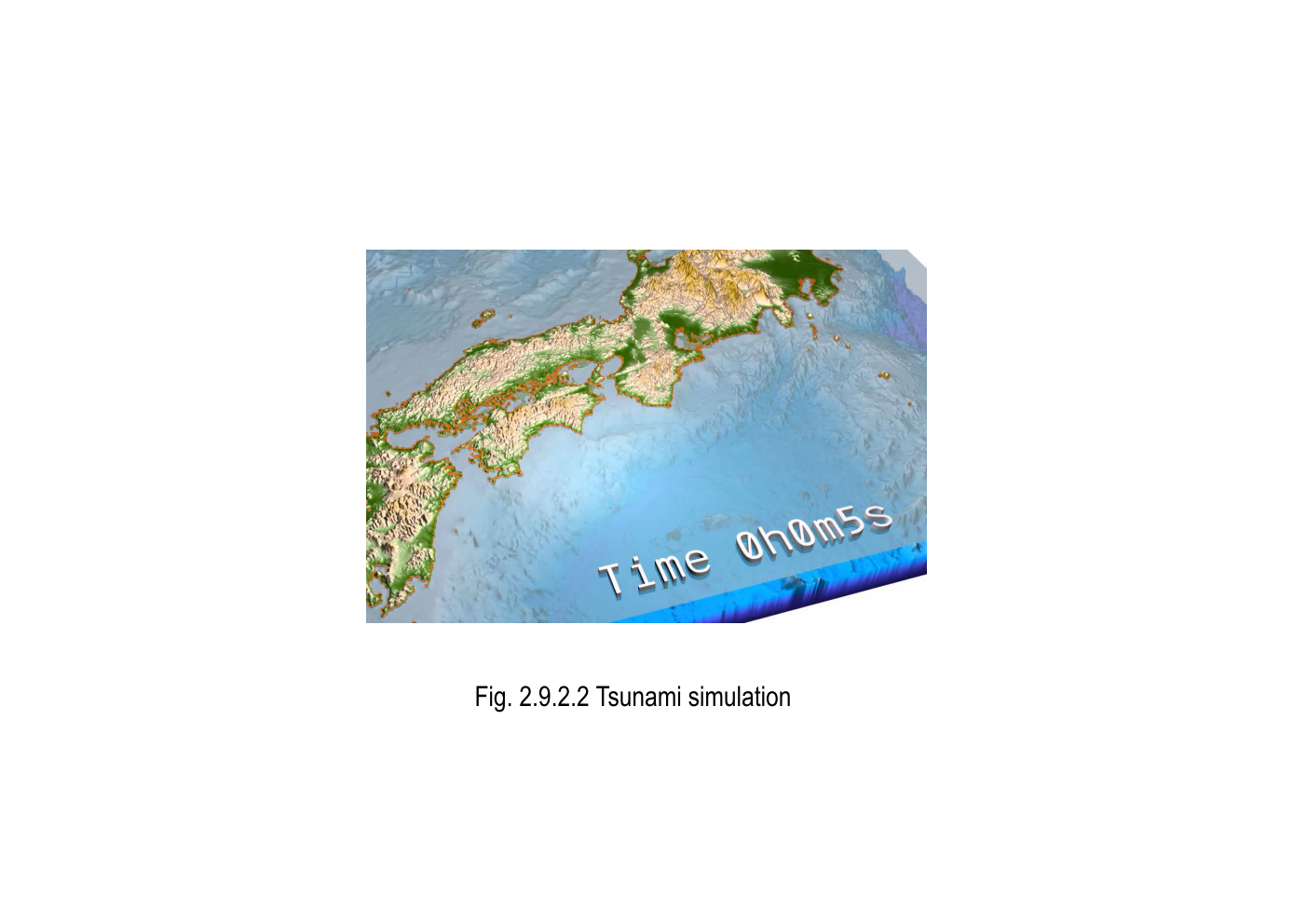 This Simulation Involves The Occurrence Of A Large Earthquake The Estimation Of The Ground Motion And Tsunami And The Results Will Be Used For Disaster