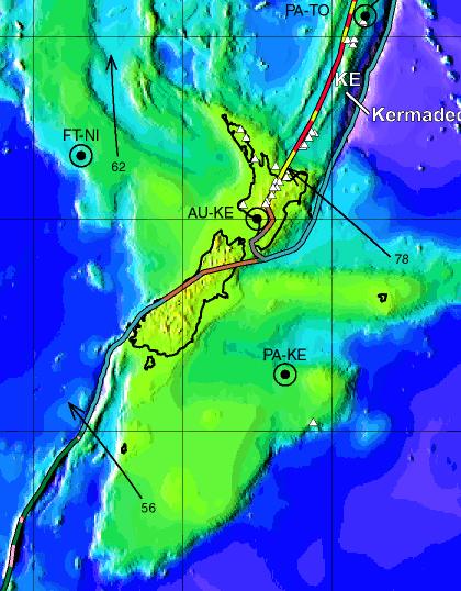 ニュージーランドのテクトニクス
