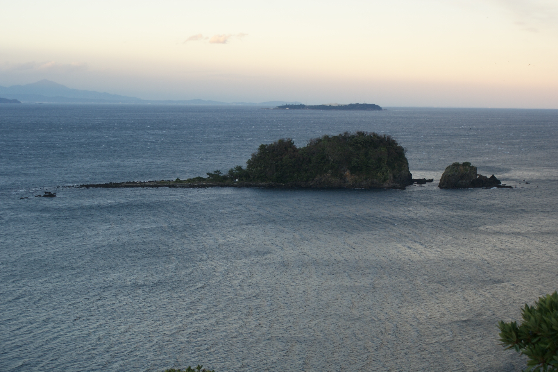 Obseravation point at Teishi island
