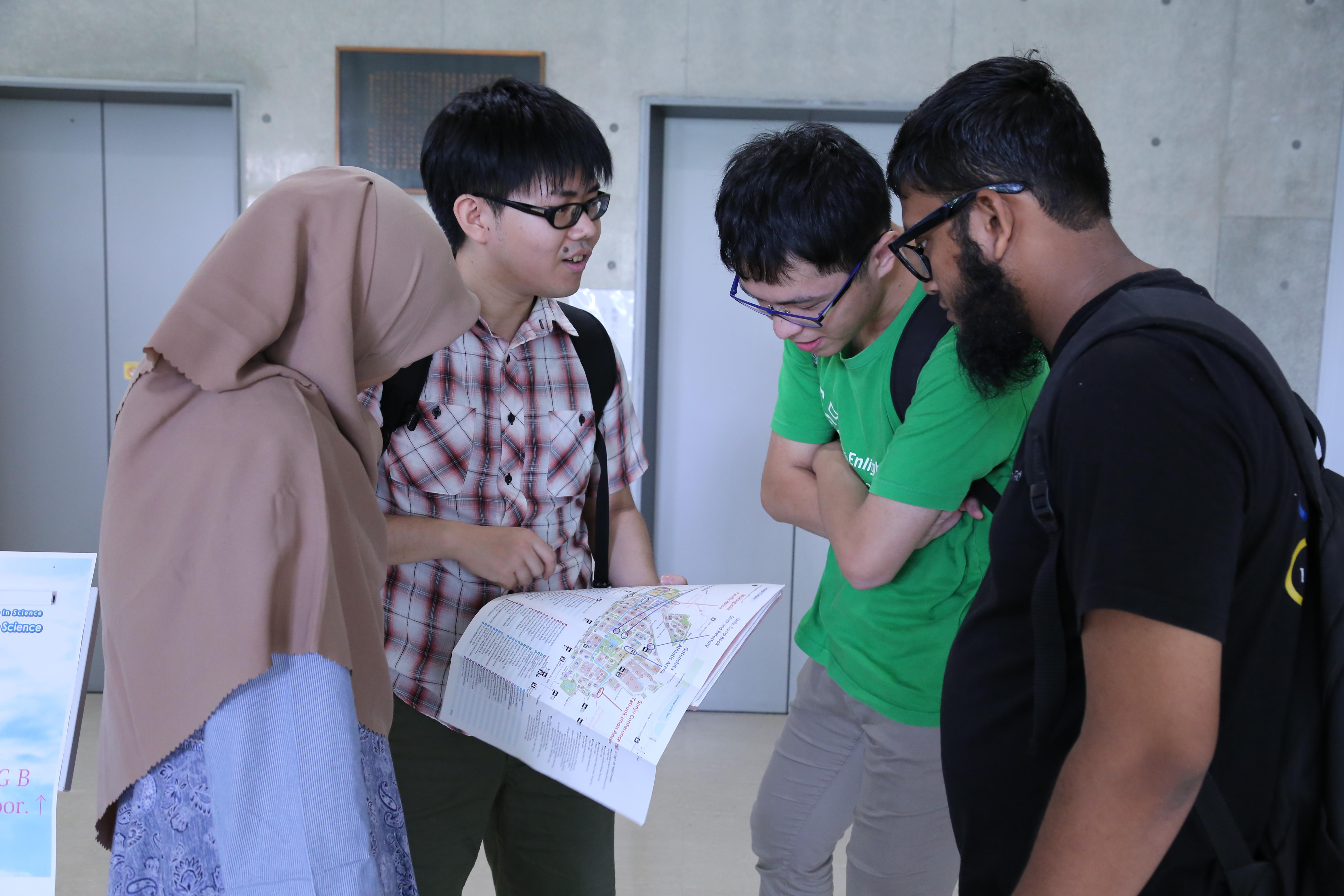 JST Sakura Science Program students in ERI