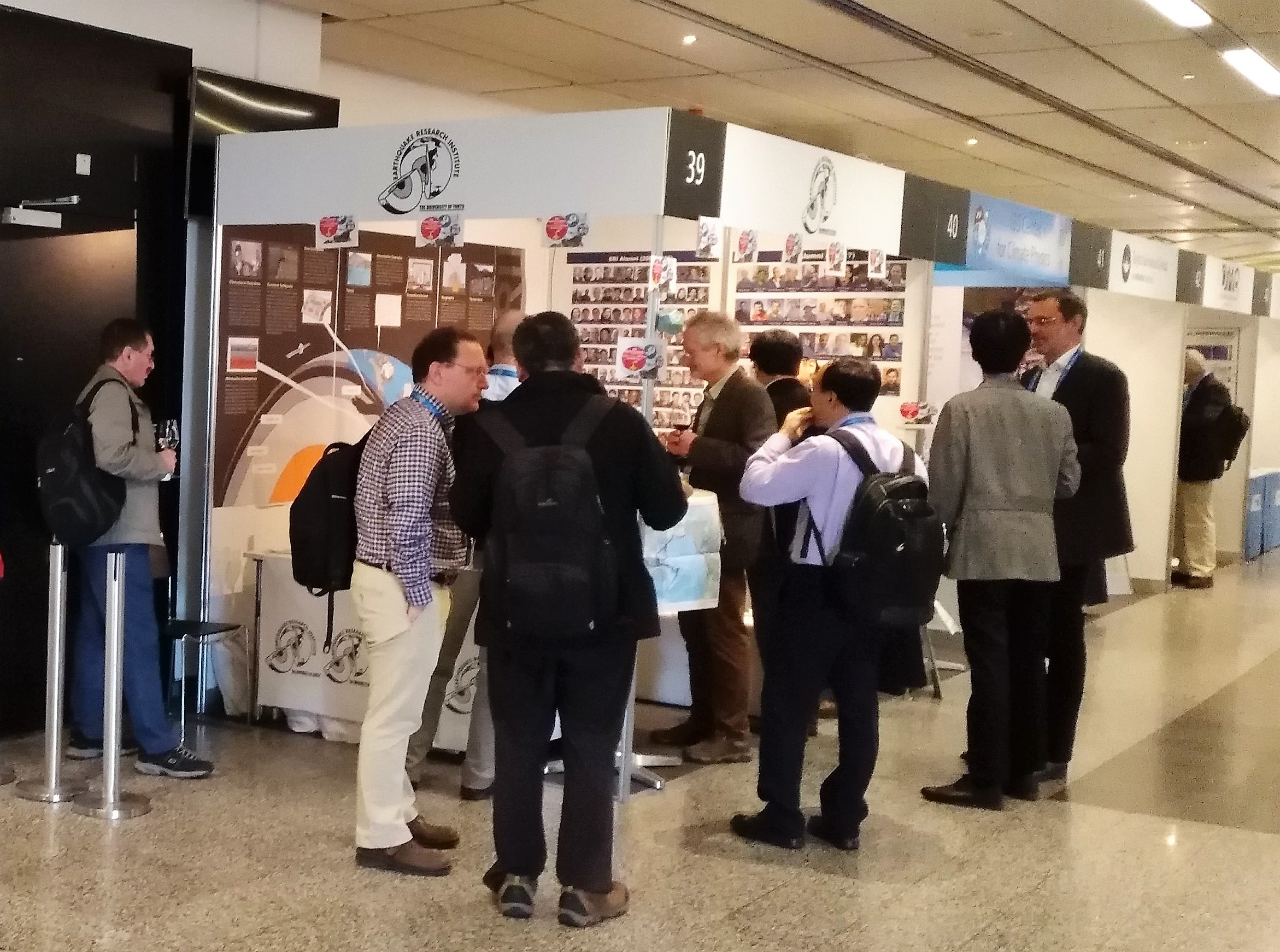 Exhibition at EGU2018