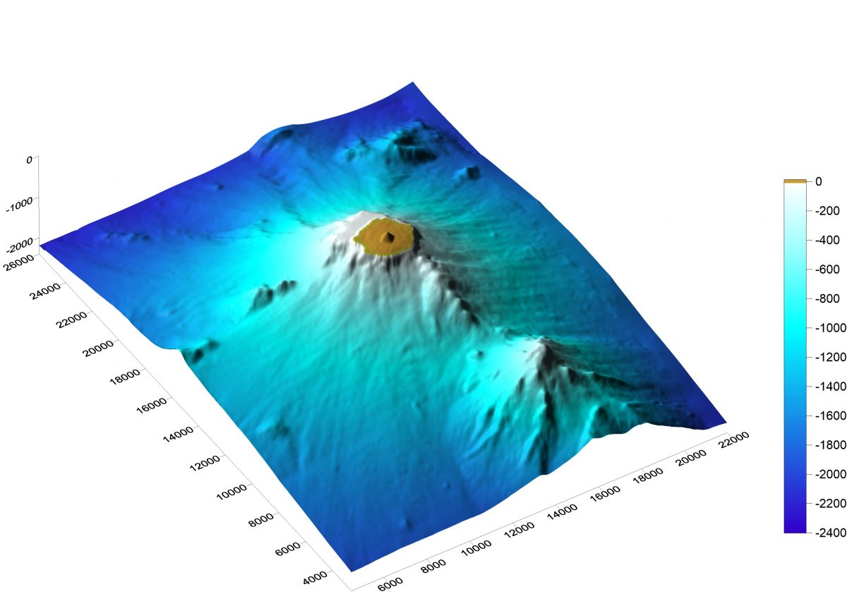 【QE】Seismic and infrasound observation in Nishinoshima island