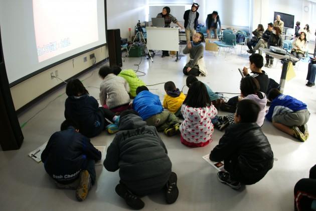 霧島でのセミナー+実験教室 2012/12