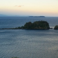 手石島の観測点