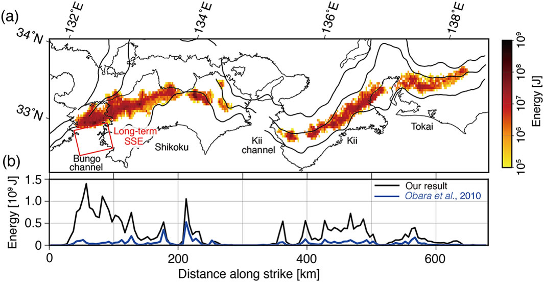 Total energy of deep low-frequency tremor in the Nankai subduction zone, southwest Japan