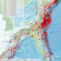 「日本の地震活動」の英語版を最新のデータで発行