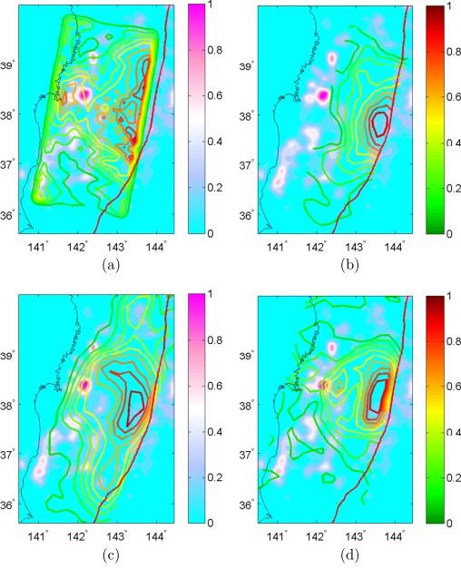 本震断層面上の余震生成効率の不均一性