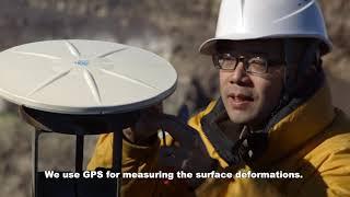 火山研究についての動画公開