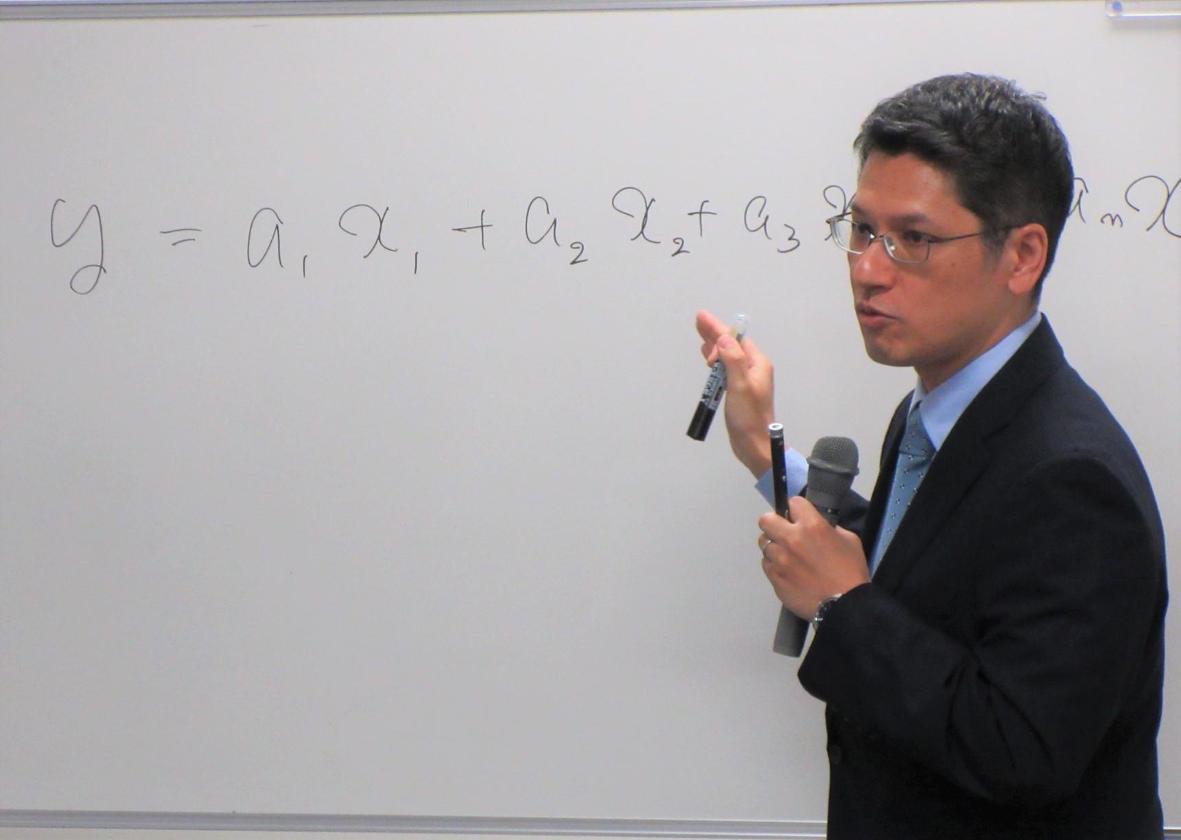 開催報告:懇談の場「地球を数理科学するービッグデータと統計学で拓く地震研究の未来ー」